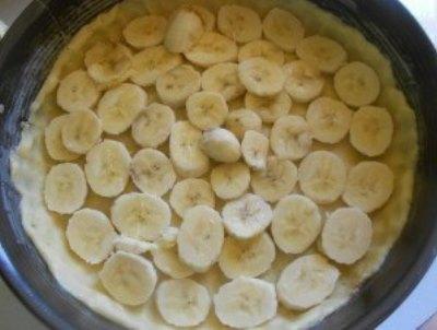 Нежный пирог с бананами