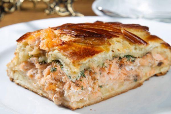 Вкуснейший рыбный пирог
