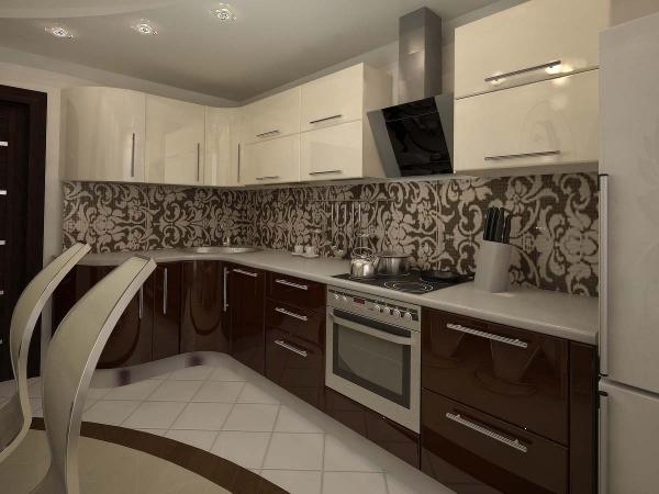 Красивые интерьеры кухонь - 2016-14