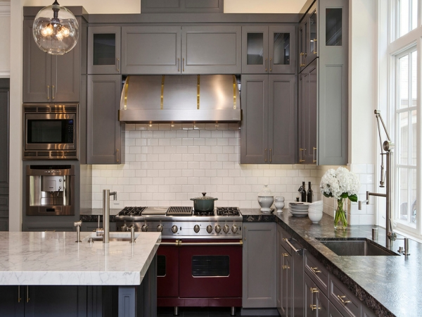 Красивые интерьеры кухонь - 2016-11