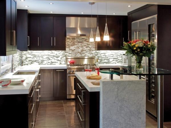 Красивые интерьеры кухонь - 2016-1