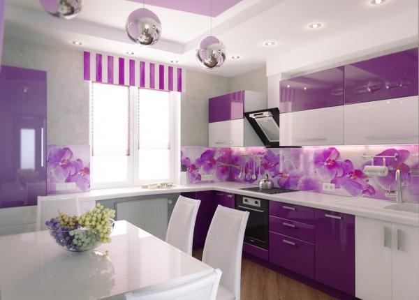 Красивые интерьеры кухонь - 2016-5