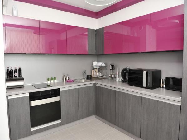 Красивые интерьеры кухонь - 2016-6