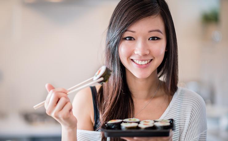Секреты стройности японок