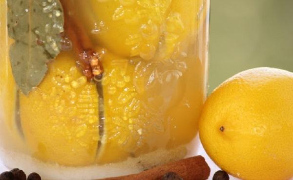 Лимоны с солью