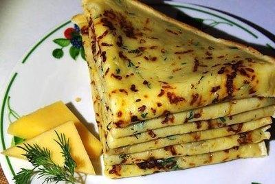 Сырные блины