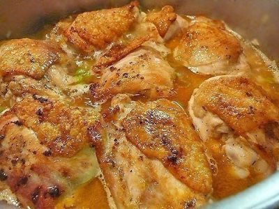 Рис с курицей - Arroz con pollo