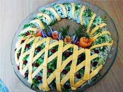 7 салатов с колбасой
