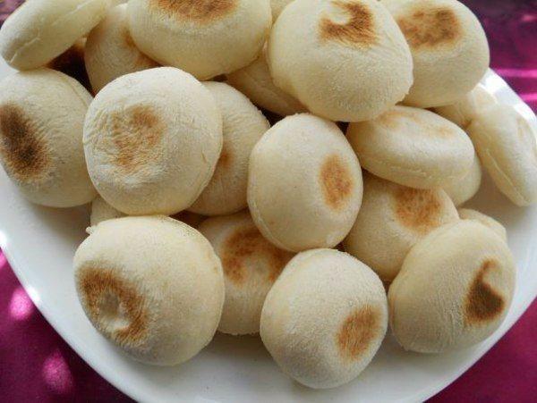Мини-булочки на сухой сковороде