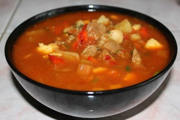 Венгерский суп - гуляш