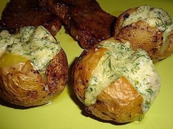 Необычный картофель на гарнир