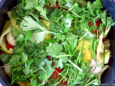 Фруктово-овощная димлама
