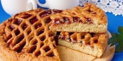 ТОП-6 Самых вкусных пирогов с вареньем