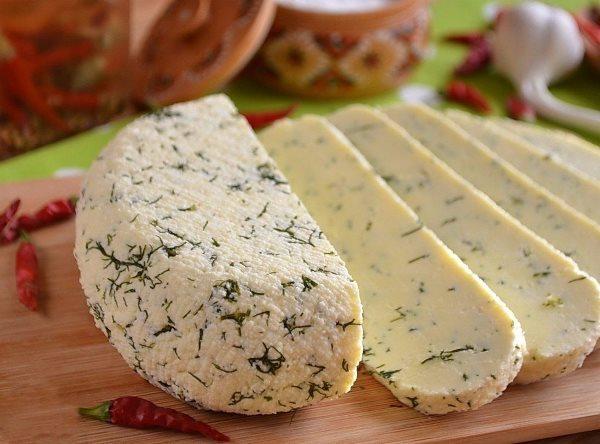 Очень вкусный домашний сыр