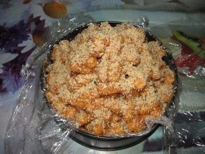 Тортик из кукурузных палочек
