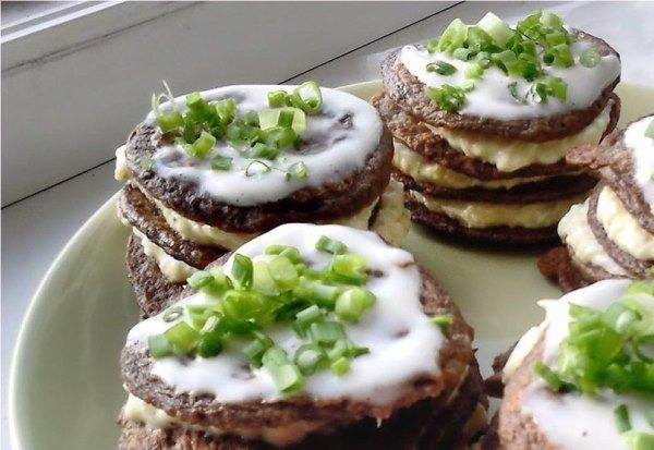 Печеночные мини- тортики