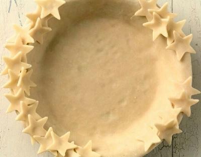 Как украсить край пирога