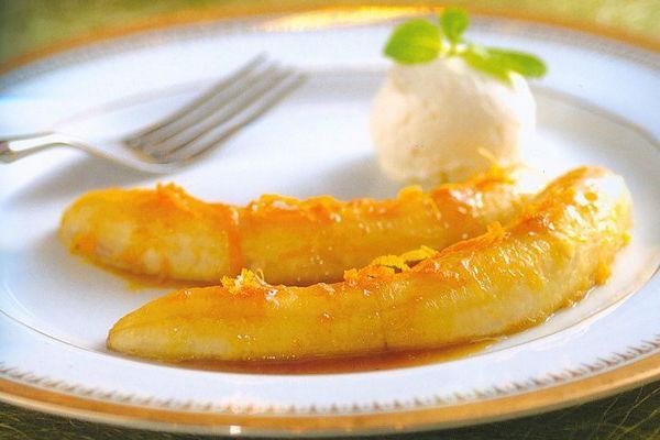 Банановое фламбе