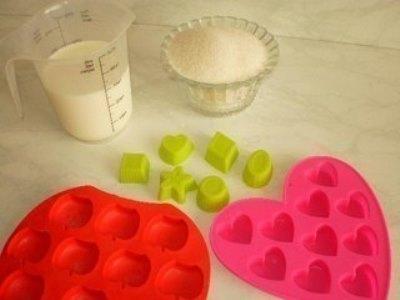 Молочные конфетки для деток