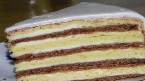 """Сметанный торт """"Мишка на севере"""""""