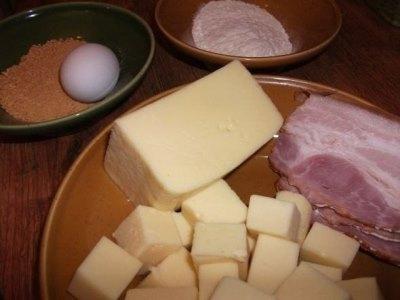 Сырные кубики в панировке