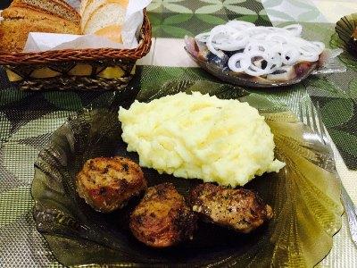 Ароматное мясо в духовке