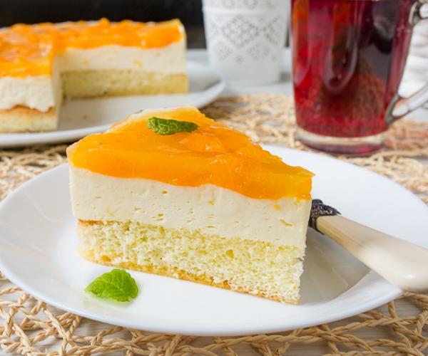 Венский пирог с мандаринами