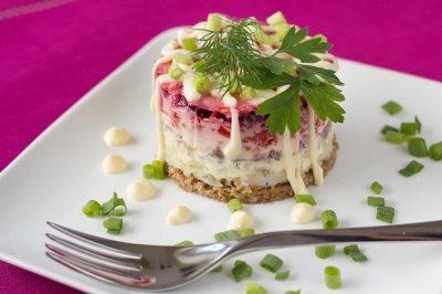 Подборка салатов 5 рецептов 3