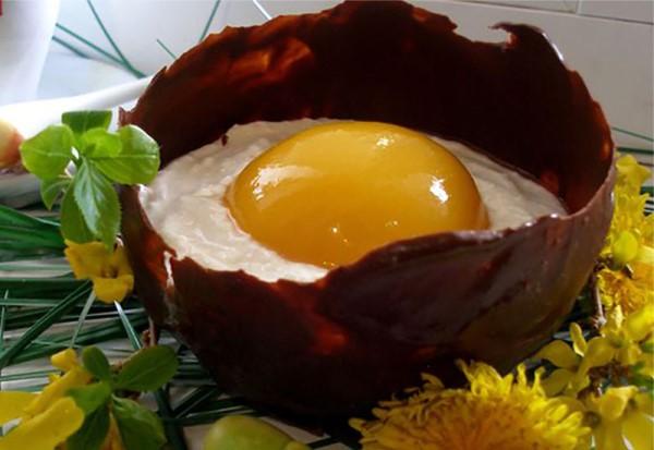 """Десерт """"Пасхальные яйца"""" 1"""