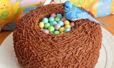 """Торт """"Соловьиное гнездо"""" 1"""