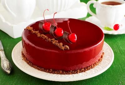 """Торт """"Красное и черное"""" 2"""