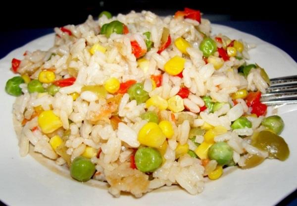 Мексиканская смесь с рисом