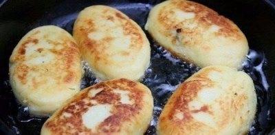 Картофельные пирожки с грибами 11