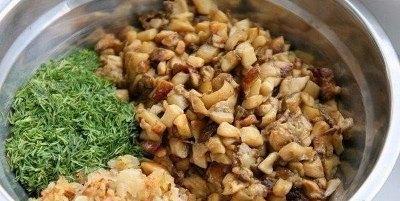 Картофельные пирожки с грибами 6