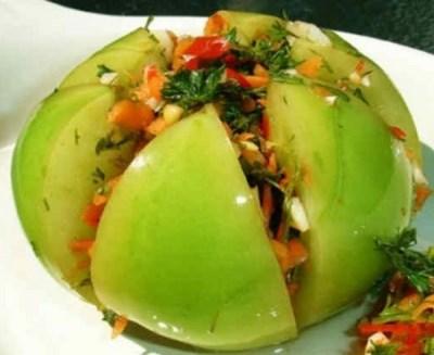 рецепты из зеленых помидоров 3