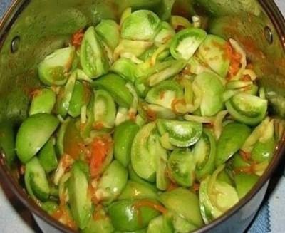 рецепты из зеленых помидоров 5