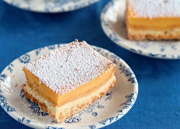 Лимонные пирожные 1