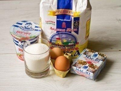 Маффины на клубничном йогурте 4