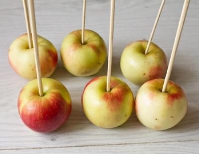 Карамельные яблочки 3