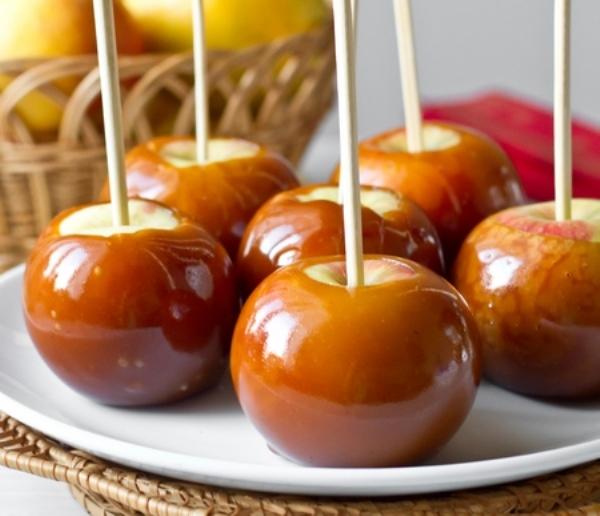 Карамельные яблочки 1