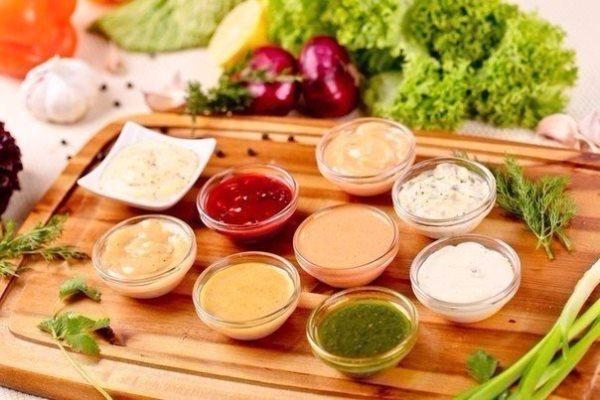 10 вариантов разных соусов 1
