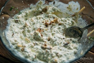 Фаршированные кабачки с творогом и сыром 3