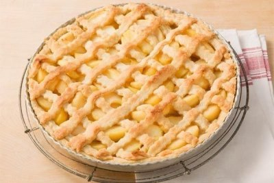 Яблочный пирог по немецкому рецепту 8