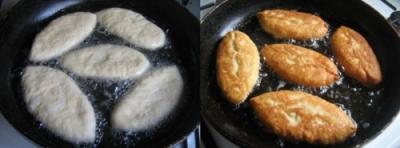 Жареные пирожки с картошкой 10
