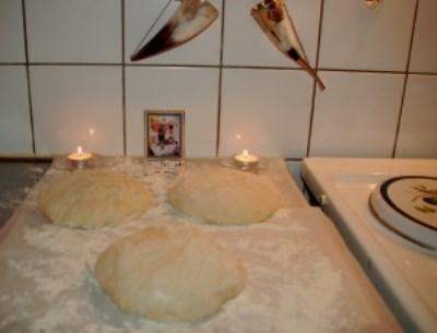 Осетинский пирог с картошкой 18