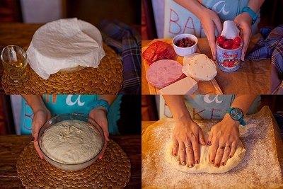 Стромболи или пицца в рулете 3