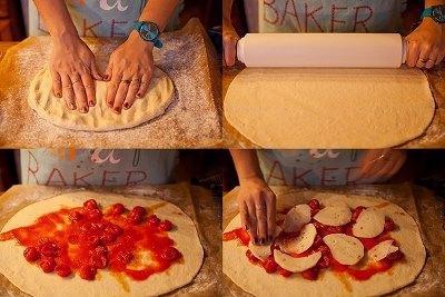 Стромболи или пицца в рулете 4