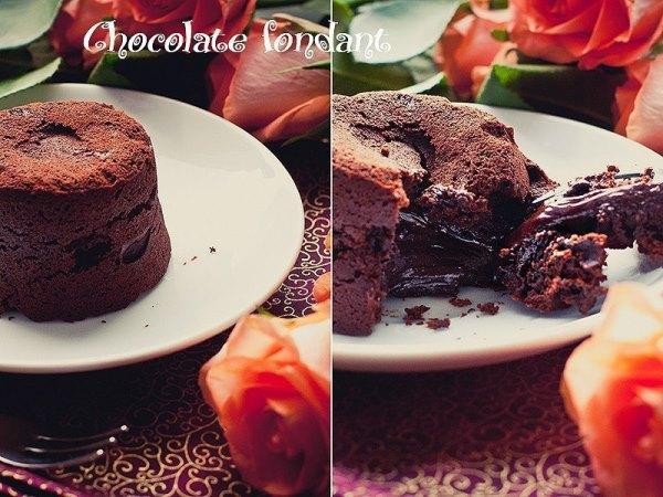Шоколадный фондан от Джейми Оливера 10