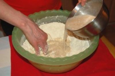Осетинский пирог с картошкой 5
