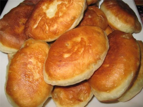 Жареные пирожки с картошкой 11